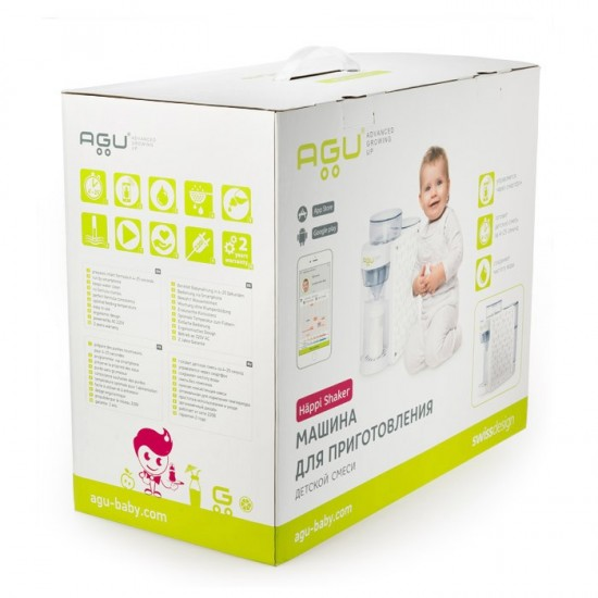 Pametni aparat za pripremu bebi formule - AGU Häppi Shaker